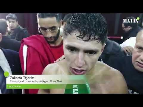 Video : Zakaria Tijarti domine Mikel Sortino et s'empare de la ceinture mondiale