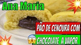 ➡️➡️Programa Mais Voçê 07/05/19 ➡️➡️Pão de Cenoura com Chocolate no Vapor da Ana Maria Braga Hoje