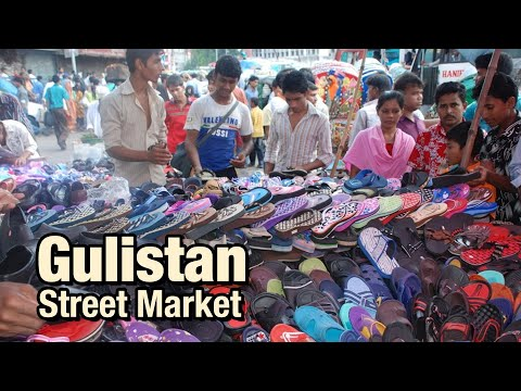 Gulistan Street Market