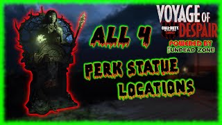 """Voyage of Despair"" ALL PERK LOCATIONS (COD: Black Ops 4 Zombies)"