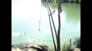 Mergulho na Pedra do Hare Krishna ao som de Dezarie!!!