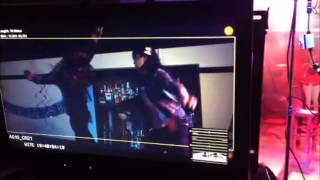 Girl Fight - girl gets knocked off a bar