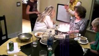 fart on grandmas cake