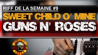 Apprendre Sweet Child O' Mine de Guns N' Roses à la guitare