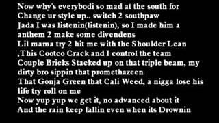 Fat joe ft Lil Wayne   (Make it rain)