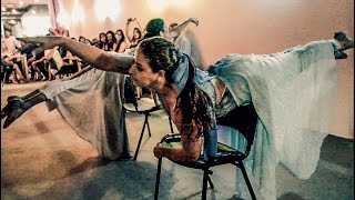NUT CAFÉ E ARTE - Inauguração - Viviane Gama e Rose de Queiroz - Chair Dance