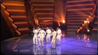 Eurovision Latvia Entries 2000-2010 Recap