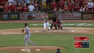 Gennett belts his fourth homer of the night