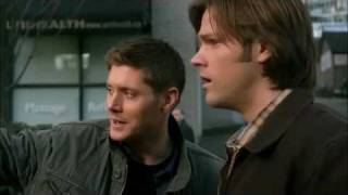 "Supernatural ""My heart will go on"" - Funny Scenes"