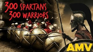 300 (Spartans) AMV - Warriors [Imagine Dragons]