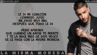 Cancion de  Maluma  la  misma  moneda