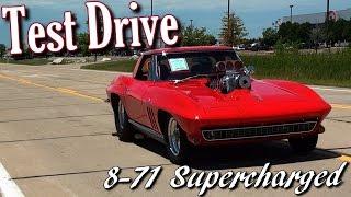 Supercharged 1966 Corvette 454 Big-Block Test Drive