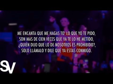 Prohibido Remix Ft Bad Bunny Da Mista de Lary Over Letra y Video