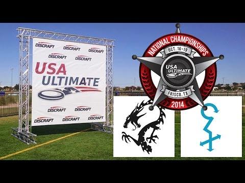 Video Thumbnail: 2014 National Championships, Mixed Semifinal: Minneapolis Drag'n Thrust vs. Ames Chad Larson Experience