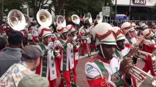 MLK Parade Saint Petersburg FL Jan 2017 feat FAMU BAND