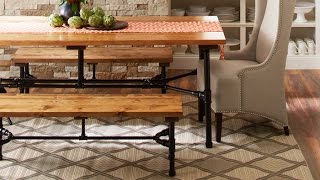 How to Build a Harvest Table Using Pipes