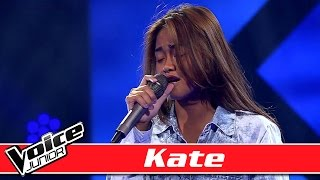 Kate synger 'Love the Way You Lie' - Voice Junior Danmark - Program 2 - Sæson 2