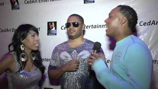 Comedian TreLuv w/ R&B Artist Semaje