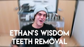 ETHAN GETS HIS WISDOM TEETH REMOVED!! width=