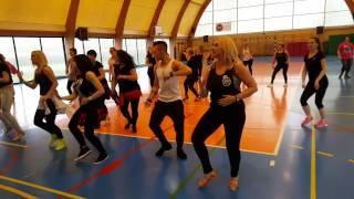 "Łukasz Grabowski bachata workshop - ""Grupo Extra - Me Emborrachare"""