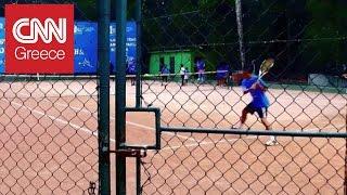 Από τις φαβέλες στα ολυμπιακά γήπεδα του τένις