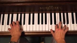 Mitt hjerte alltid vanker - Vokal med akkompagnement (piano)