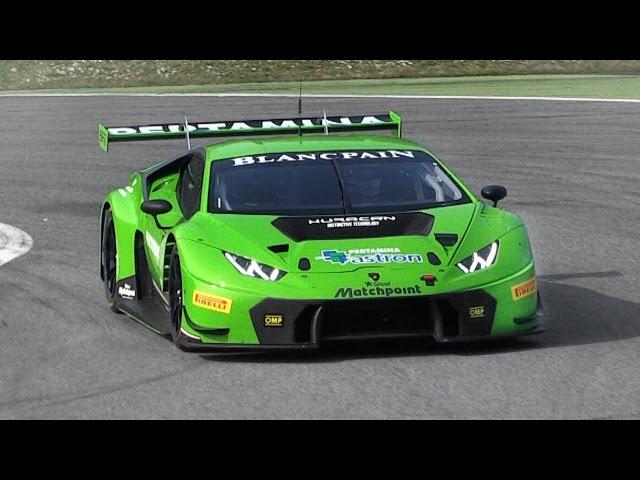 2015 Lamborghini Huracán GT3 Pure Sound On Track