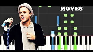 Olly Murs - Moves ft Snoop Dogg (Piano Tutorial Instrumental)