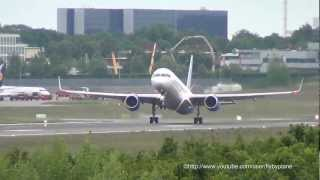 [Very Short Takeoff] RAK Airways (Jet2) B757 G-LSAK Hamburg Airport
