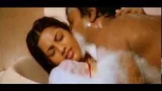 Meena Wet Saree in Bathtub width=