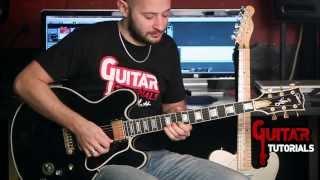 The Thrill Is Gone (B. B. King) - Intro - Guitar Tutorial with Matt Bidoglia