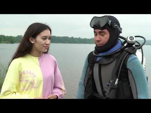 Спасатели показали, как проводится водолазное обследование пляжей к купальному сезону