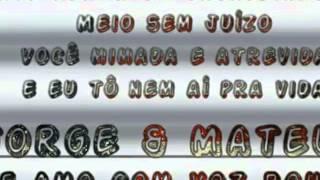 Jorge & Mateus-Te Amo com a voz rouca(DVD 2015)
