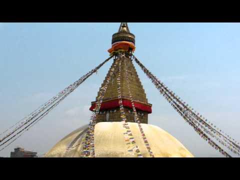 SANY0747.MP4 BoudhaNath Stupa Movie