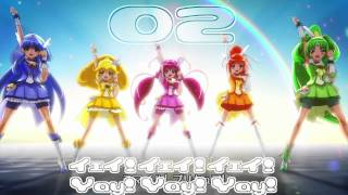 Smile Precure! OP&ED Theme Track02