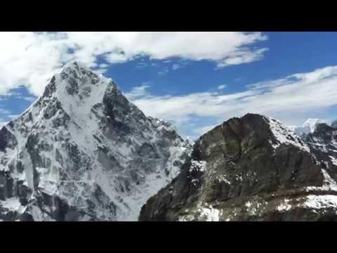 View from Lobuje East (500 metres  below summit)