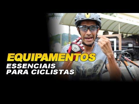 Equipamentos essenciais para ciclistas