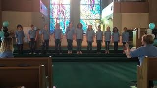East Texas Children's Chorus Spring Concert 2018 - I Won't Grow Up