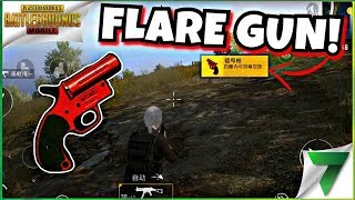 Best Way To Use Flare Gun in PUBG Mobile   Funny Moments   Triggered Insaan