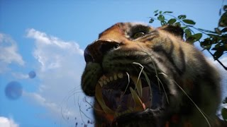 Far Cry 4 - Bengal Tiger Attack Animation (PC HD) [1080p]