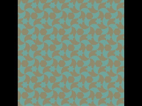 伊斯蘭的幾何拼貼 16B