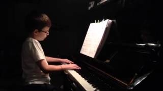 Ash on piano, 2/4/14