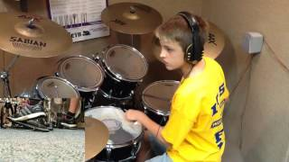 Owen - Kongos - Come With Me Now - Drum Cover