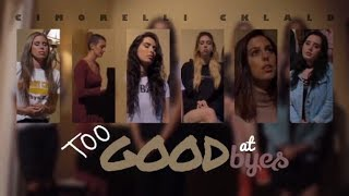 Cimorelli - Too Good At Goodbyes (Lyrics/Tradução)