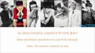 BTOB - Beep Beep (뛰뛰빵빵) [Hangul/Romanization/English] Color & Picture Coded HD
