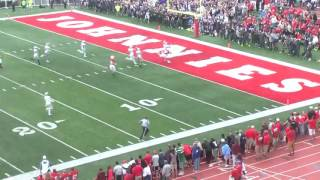 Anthony King-Foreman TD fumble return in Tommie-Johnnie game