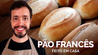 PÃO FRANCÊS: Uma receita caseira para fazer pão de sal de padaria