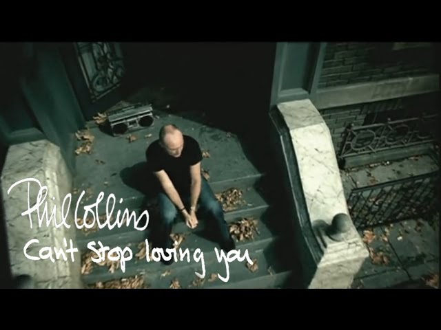 "Vídeo del tema ""Can't stop Loving You"", del cantante británico Phill Collins"