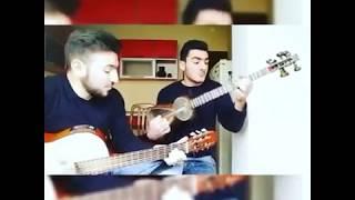 Qəflətən əsdi kuləklər - Tar Asif _ Gitar Taleh . Baki Humanitar Kollec