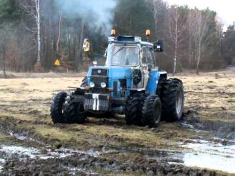 Fortschritt ZT 303 test kół bliżniaczych prace polowe 2011 SULINO TRELLEBORG TM 700